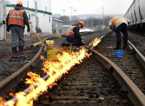 Tracks on Fire